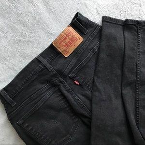 VTG 90s Levi's 550 High Waist Mom Jeans Tapered